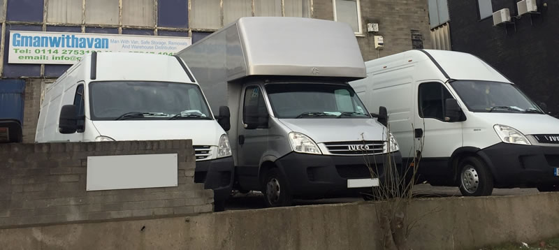 G-Man with Van Sheffield's Vans