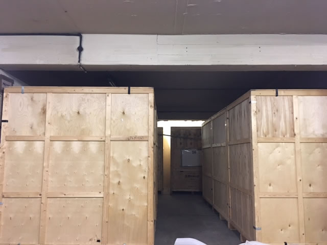 A photo of the inside of our warehouse in Sheffield