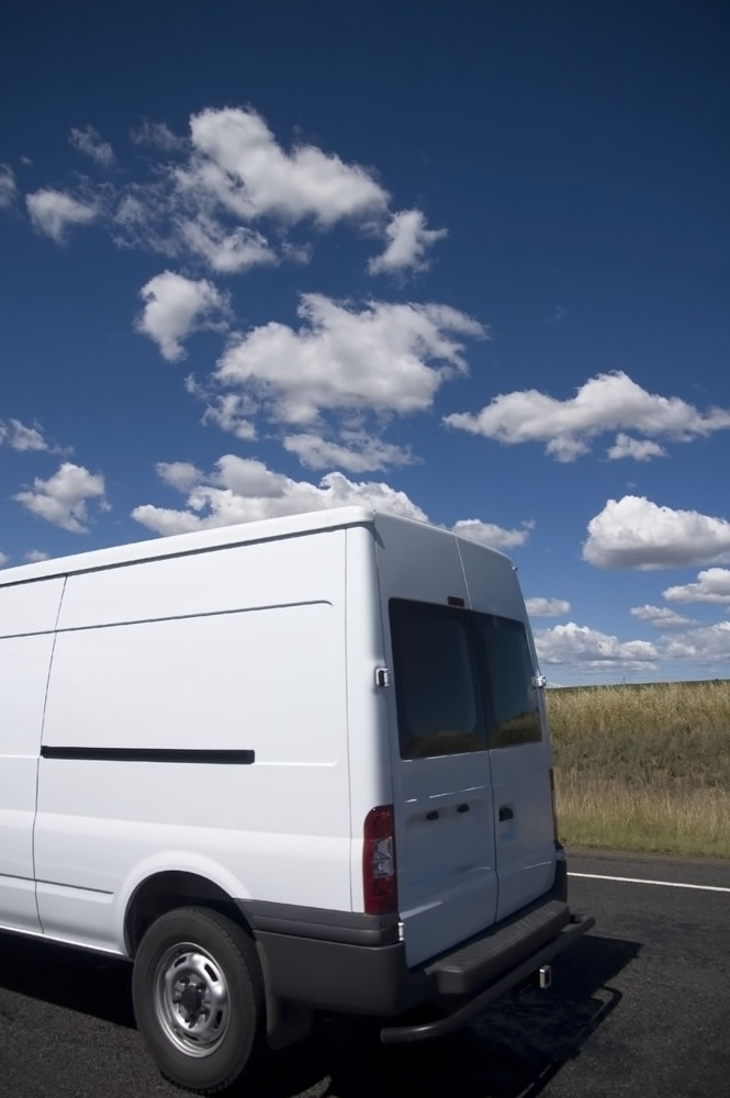 Vans used by G-Man with a van Sheffield